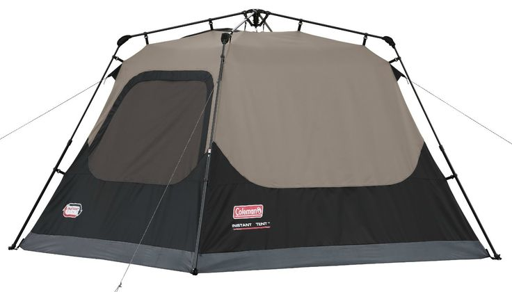 Coleman Instant Tent: Sets up in only a minute! We have this tent and it really works // Find other handy camping gear on this list: http://www.everintransit.com/camping-checklist/