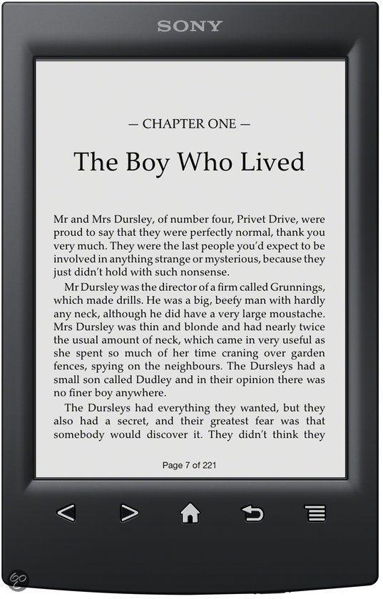 Alles over de voordelige Sony Reader Limited Edition (PRS-T2N) e-reader