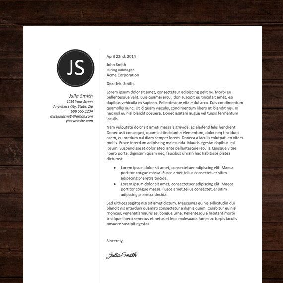 Resume Template Professional Resume Design Free by ShineGraphics - Cover Letter Design