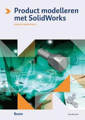 Product modelleren met SolidWorks  SolidWorks: een veelgebruikt 3D-CAD-programma in de wereld van de productontwikkeling. Dit populaire Nederlandstalige naslagwerk leert modelleren met behulp van SolidWorks. Online kunnen studenten begeleid oefenen. Leren door doen! Over de inhoud Product modelleren met SolidWorks bestaat uit twee delen. Deel 1: het boek behandelt de basisbeginselen van het werken met SolidWorks het modelleren van producten en het maken van correcte technische tekeningen…