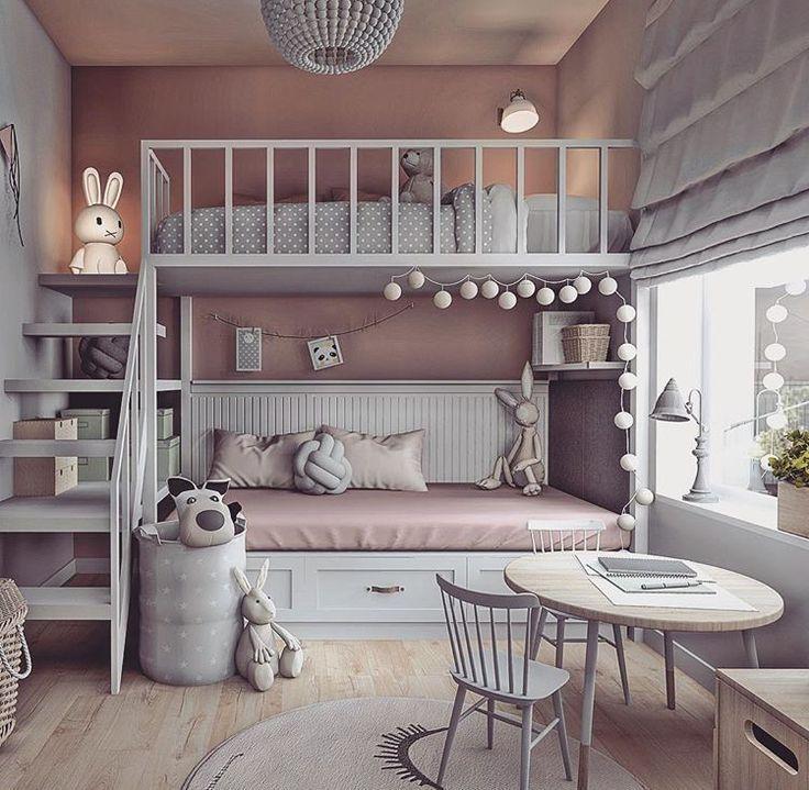 Den Raum ausnutzen – #advantage #bedroomdecorCheap #bedroomdecorCute #bedroomdecorGrey