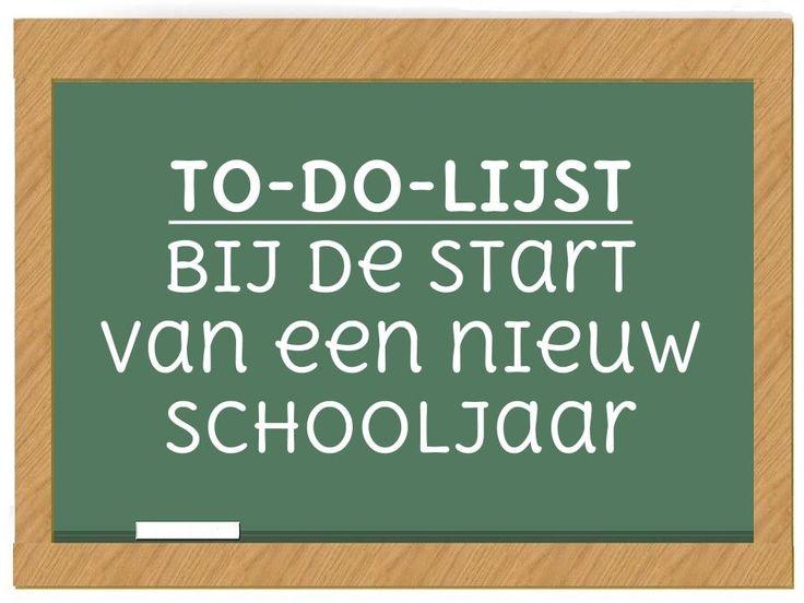 Vraag je je wel eens af wat leerkrachten van de lagere school zoal doen bij de start van een nieuw schooljaar? Dit is mijn persoonlijke to-do-lijst.