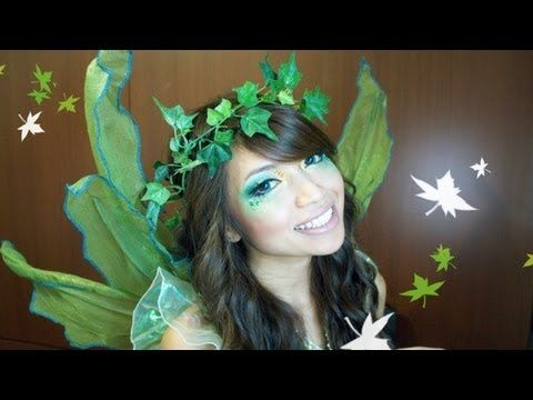 Forest Fairy Halloween Makeup Tutorial - YouTube