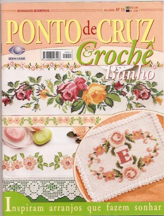 bordes: Galleryru, Magazines Crosses, Crosses Stitches, Stitches Magazines, Libros Crochet, Embroidery Stitches, Stitches Crosses, Crochet Magazines, Cruz Croch