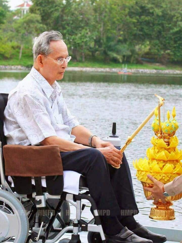 His last Loy Krathong
