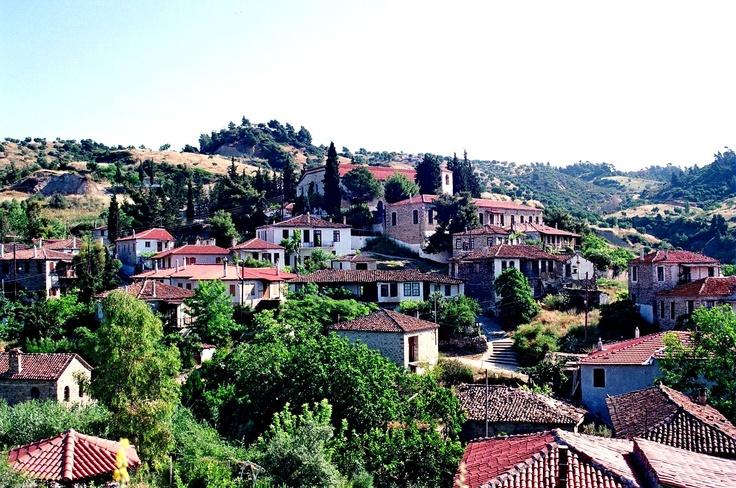 Nikiti's old village, Halkidiki, Greece