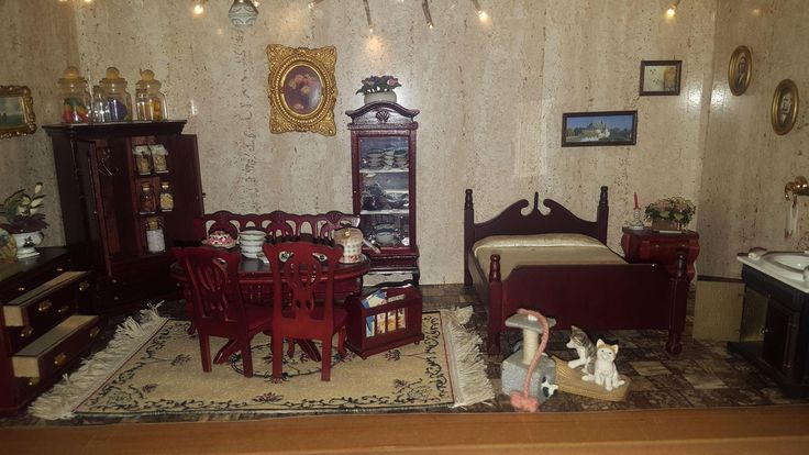 Doll House - 1950's from antiques--and--nostalgia on Ruby Lane