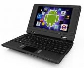 * Slim and light weight BLACK (Solid Black Inside and Outside) mini laptop Android 2.2, 4GB st... $99.99