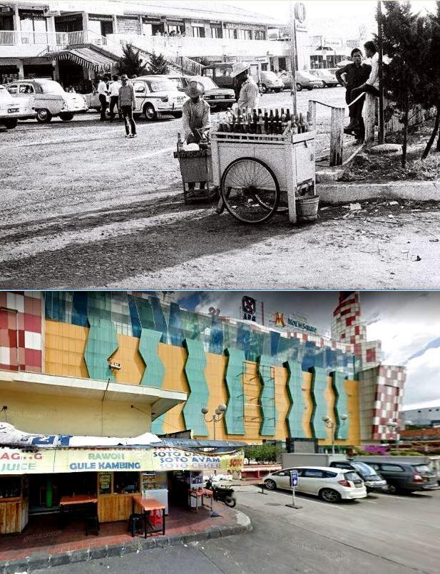 Pasar Blok M Kebayoran Baru Jakarta 1960 1970 Blok M Square Kebayoran Baru Jakarta 2015 Indonesia Dunia Arsitek