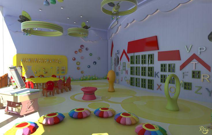 #Activity Area #classroom - Reaction - #daycare # Kids #Space #interiordesign
