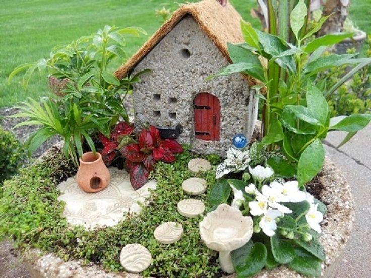 cmo hacer un jardn en miniatura e imgenes de algunos preciosos