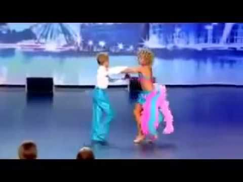 Yasha & Daniela - Amazing Kid Dancers Dance to Pitbull and Tina Turner - America's Got Talent 2013 - YouTube
