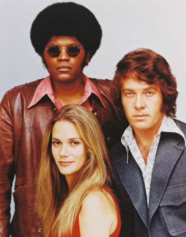 the mod squad - the black guy made a comeback with Tarrantino's Pulp Fiction - One of my fave movies - darn forget his name. he's in great movies