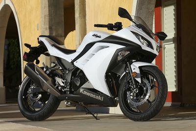 2013 Kawasaki Ninja 300, to those of you who didn't know, this is my future vehicle