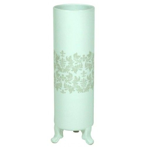 Footed Vase With Decal - Small £24.99