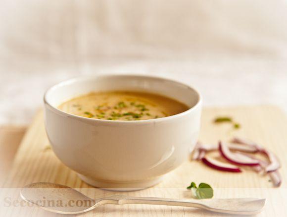 Crema de pollo y verduras - Receta - Secocina Chicken and veggies cream --super deli! Recipe in Spanish :)