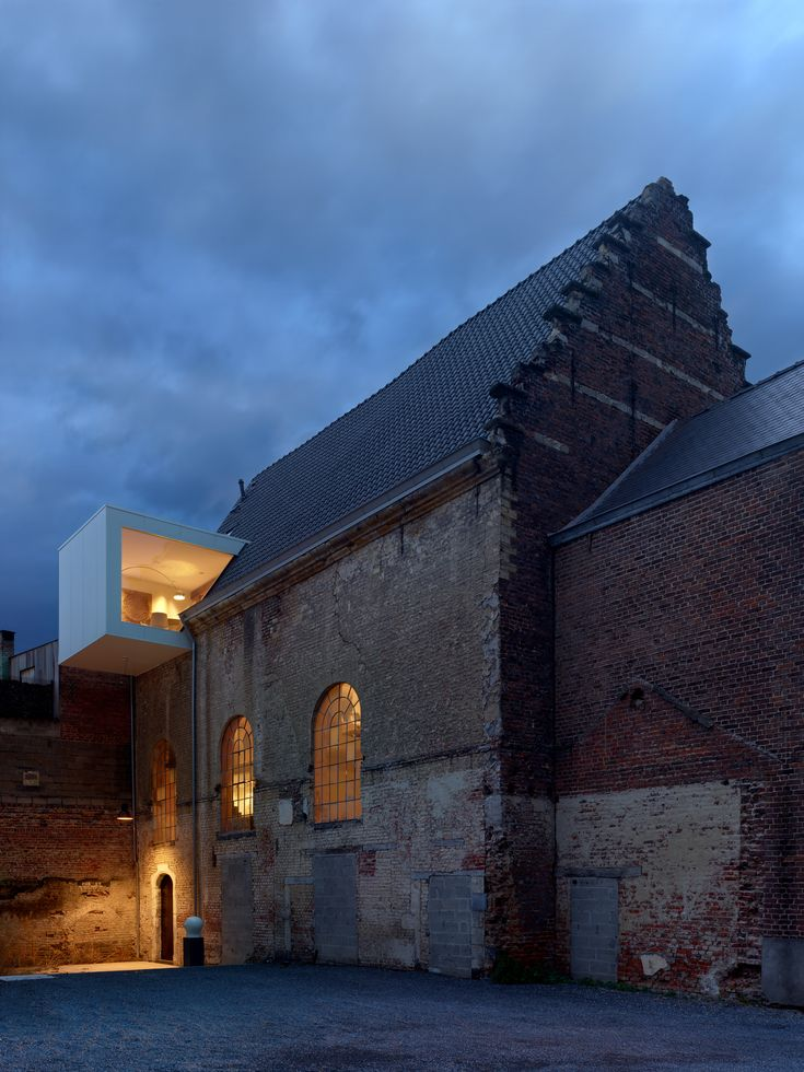 Old with new architecture | This Chapel-Turned-Office in Belgium Is Unbelievably Cool