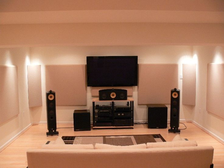 Acoustical Solutions For Home Theater : High end listening room acoustical solutions home