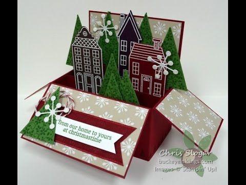 Holiday Home Card in a Box Video   Buckeye InklingsBuckeye Inklings
