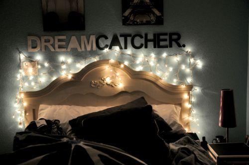 roomsDreams Bedrooms, Dream Catchers, Dorm Room, Trav'Lin Lights, Fairies Lights, Christmas Lights, String Lights, Sweets Dreams, Dreams Catchers