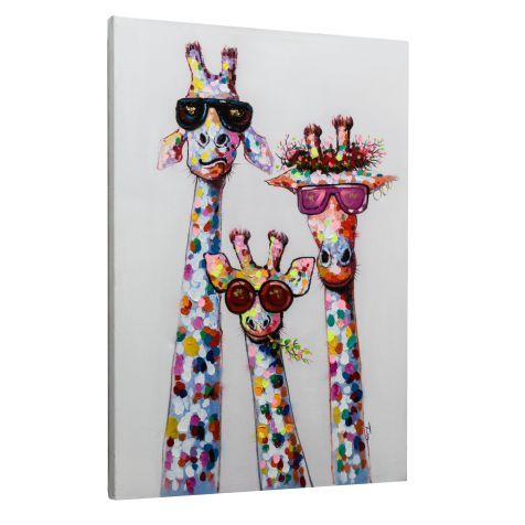 Bild Giraffen Vorderansicht