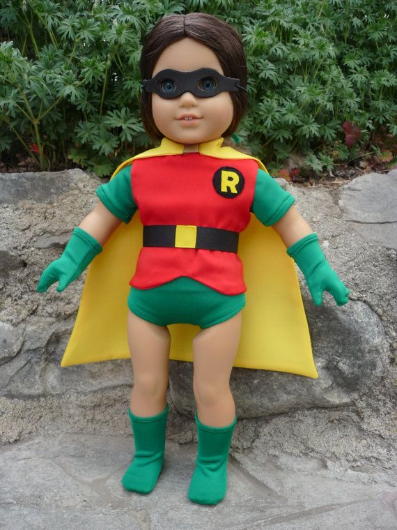 Robin Superhero Super Hero outfit or costume for by vebasews4u
