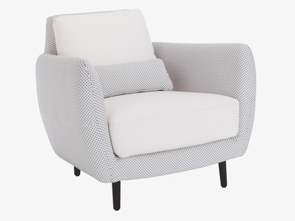 a bouroullec-look-alike comfy armchair