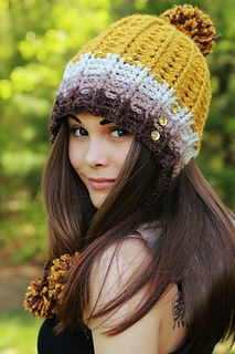 Brenda Hat by Viktoria Gogolak