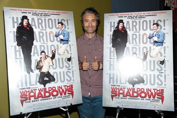 """Taika Waititi Photos Photos - Filmmaker/Actor Taika Waititi attends the New York special screening of """"What We Do In The Shadows"""" at Landmark Sunshine Theater on February 12, 2015 in New York City. - 'What We Do In The Shadows' New York Screening"""
