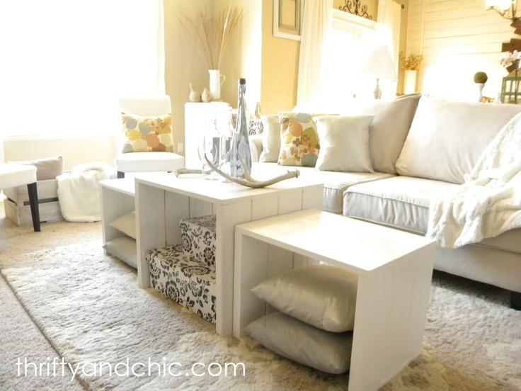 DIY 3 In 1 Coffee Table Furniture IdeasRepurposed FurnitureFurniture MakeoverFunky FurnitureHouse FurnitureLiving Room