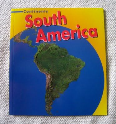 What DID we do all day?: Continent Boxes: South America