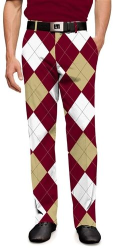Mens Merlot & Chardonnay Made To Order Pants by Loudmouth Golf.  Buy it @ ReadyGolf.com
