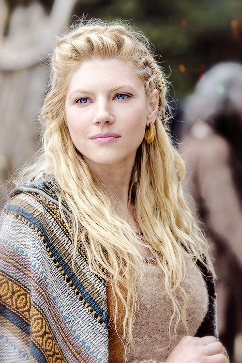 Lagertha - played by Katheryn Winnick (actually she is Ukrainian)