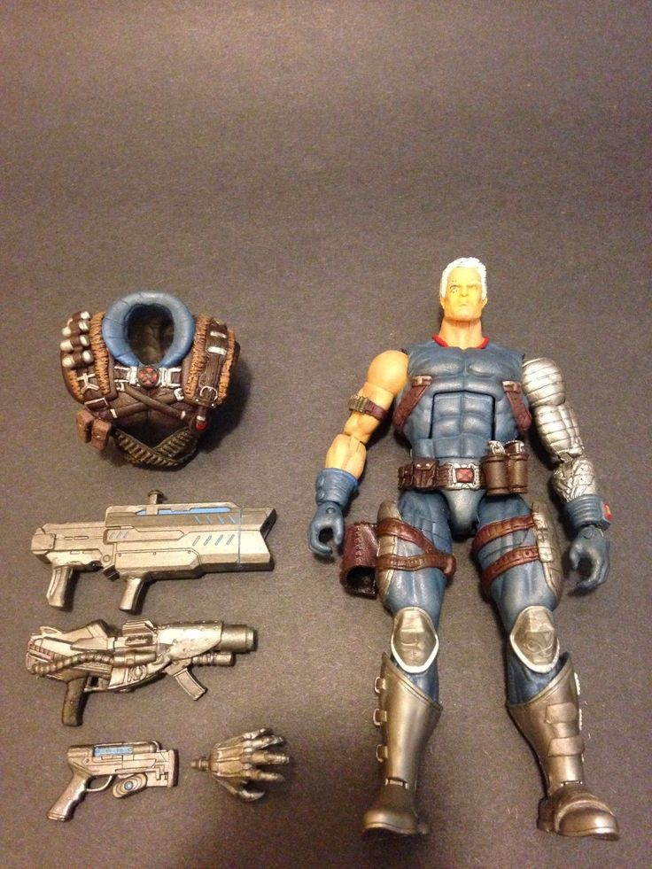 Cable (Marvel Legends) Custom Action Figure by marvelfanboy Base figure: Stryfe with Punisher head