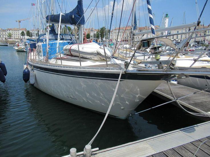 1988 siltala nauticat 43 center cockpit for sale