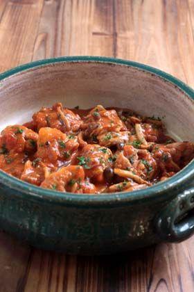鶏のトマト煮(カチャトーラ)の作り方 - 使えるレシピ