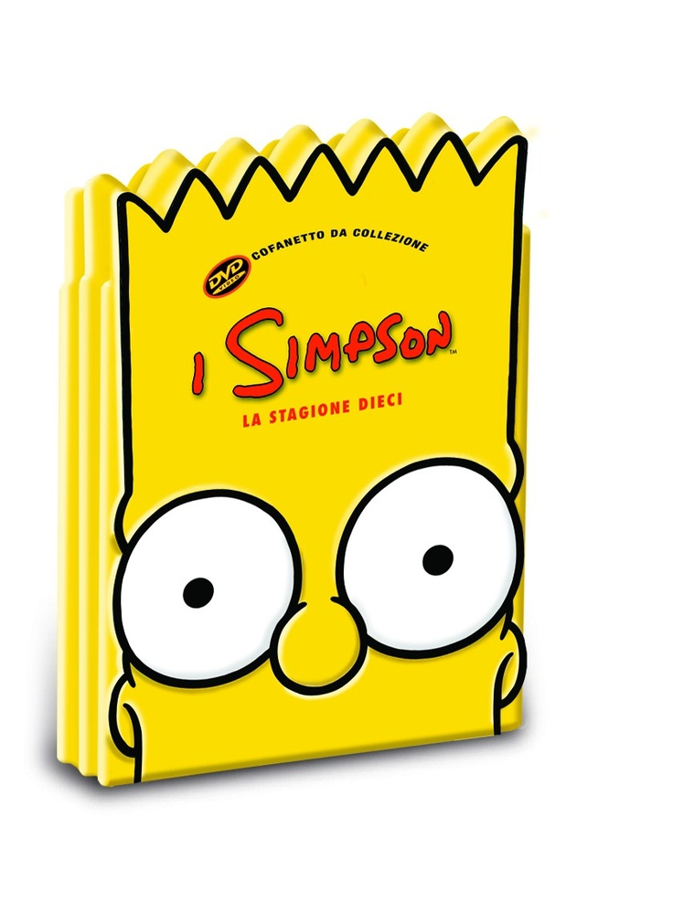 I Simpson - Stagione 10 (Limited edition: Testa di Bart). Cofanetto 4 DVD - Homevideo PostePay Fun