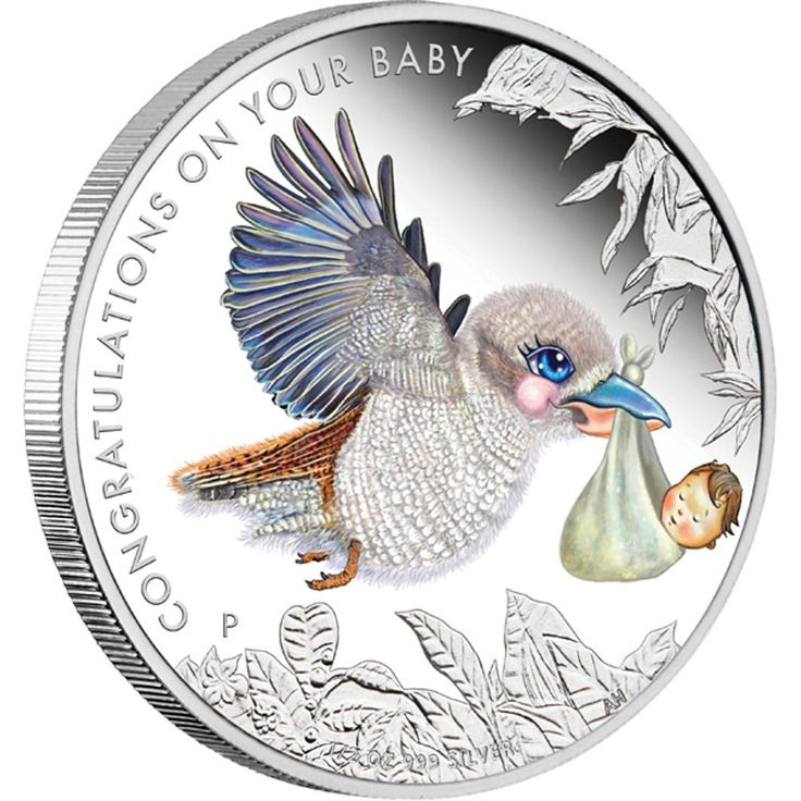 Newborn Baby 2013 Half Ounce Silver Proof Coin – Perth Mint