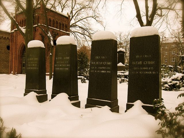 Brothers Grimm graves, Berlin