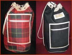 Zwemtas, jaren 60/70- Swimming bag, I had the red one