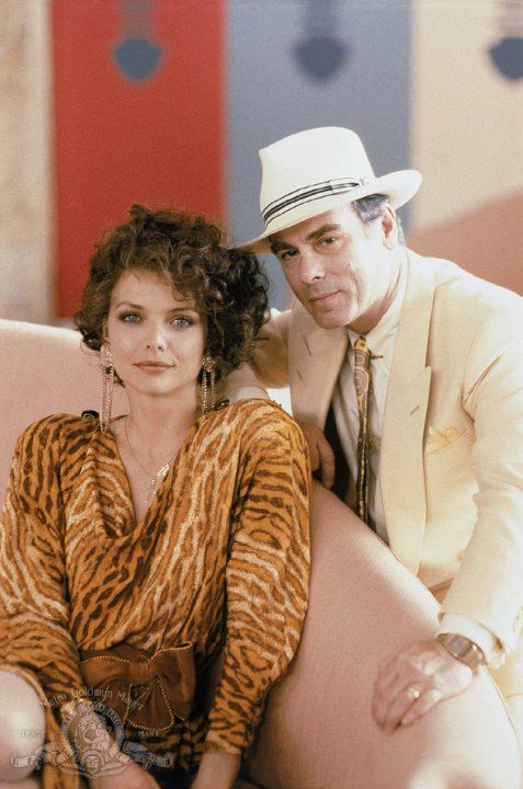 Michelle Pfeiffer and Dean Stockwell in Married to the Mob, (1988)