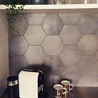 Glitter Grout Is the Latest Decor Trend to Go Viral, and We LOVE It via @POPSUGARHome