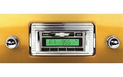 1947-1953 Chevy Truck AM/FM RADIO USA-230 CUSTOM AUTOSOUND IPOD Aux