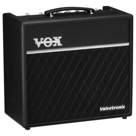 VOX Valvetronix VT40 modeling amp is the ability to combine the built-in effects with the onboard amp models to create a complete and powerful sound. Just as with the effects, the VT40 makes no compromises when it comes to effects, boasting a level of quality that rivals top standalone units. The broad array of effects is divided into two sections: Pedal effects such as distortion, wah, and compressor; and Modulation/Delay effects such as chorus, flanger, and tape echo.