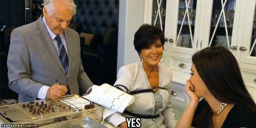 kim kardashian kris jenner Kourtney Kardashian khloe kardashian keeping up with the kardashians kardashian gif