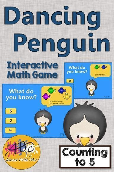 Working on number sense with your PreK and Kindergarten students? They'll be dancing along with this fun interactive game! Excellent activity for center time plus a worksheet for early finishers.