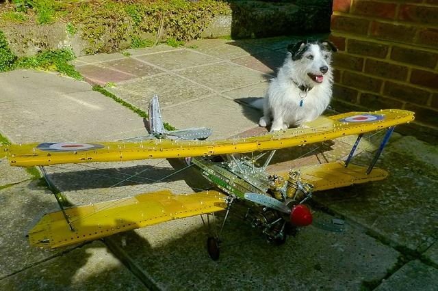 Meccano Bristol Bulldog 28 | Flickr - Photo Sharing!