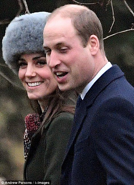 British Royal Family attended the church service at St. Mary Magdalene Church in Sandringham