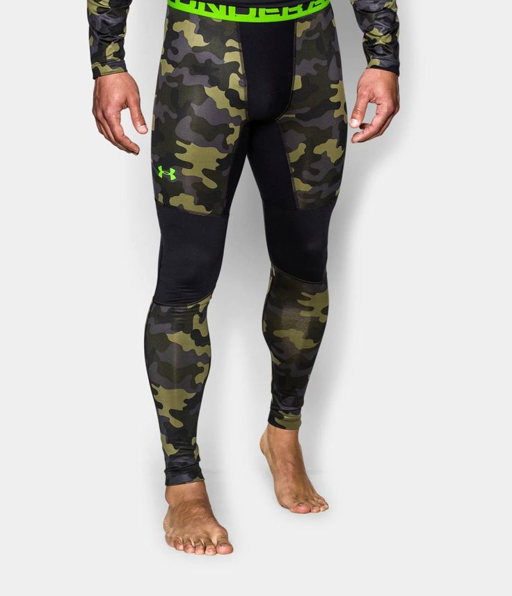 Men's UA ColdGear® Evo Night Vision Compression Leggings | Under Armour US