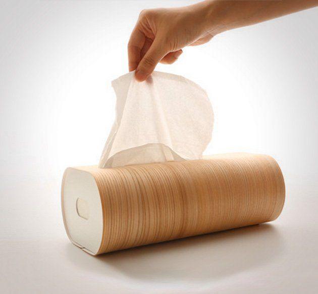 Fancy   Wooden Tissue Box